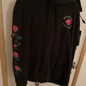 Hollister men roses jacket